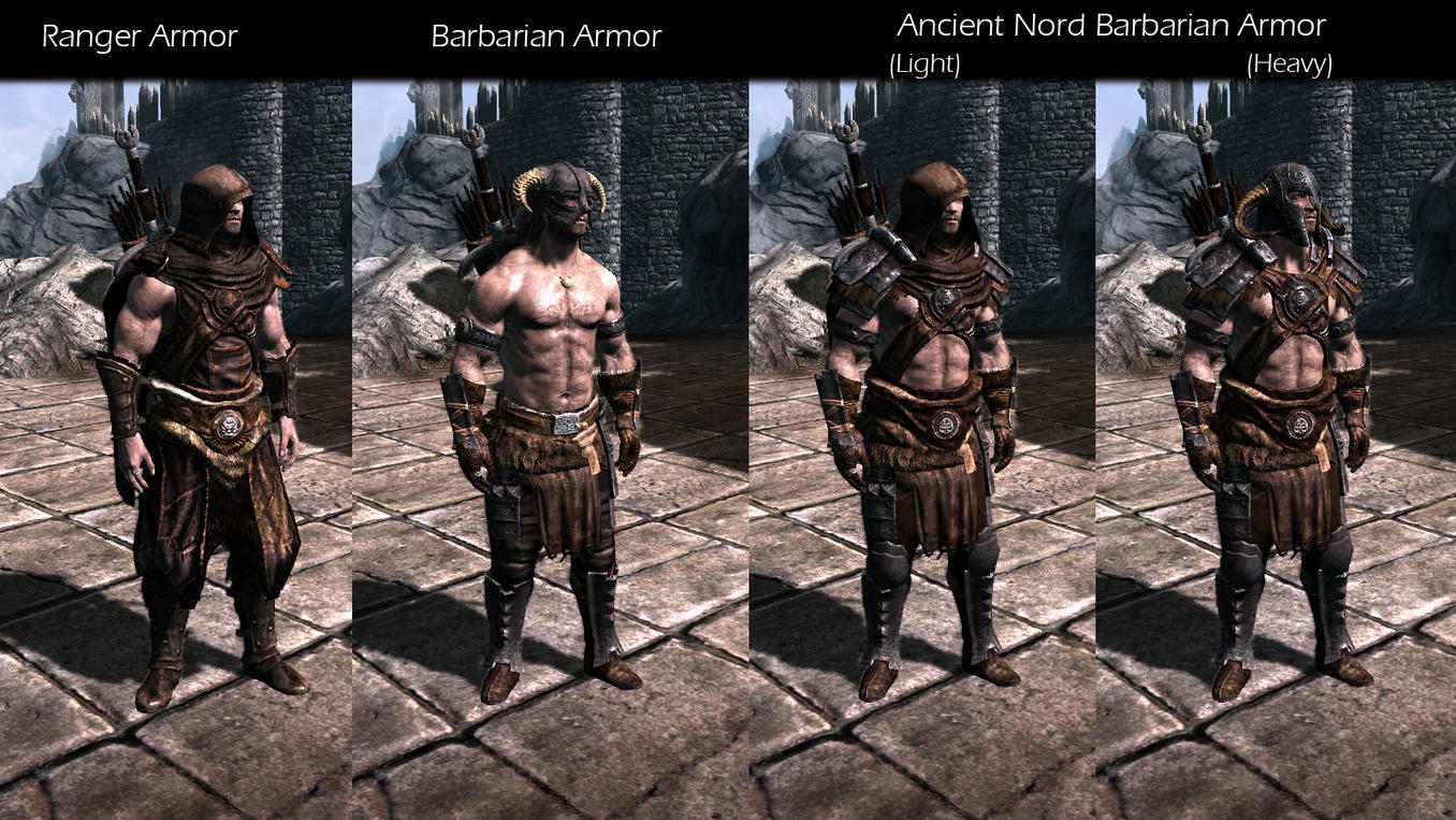 Skyrim Hd Armor Pack Mod