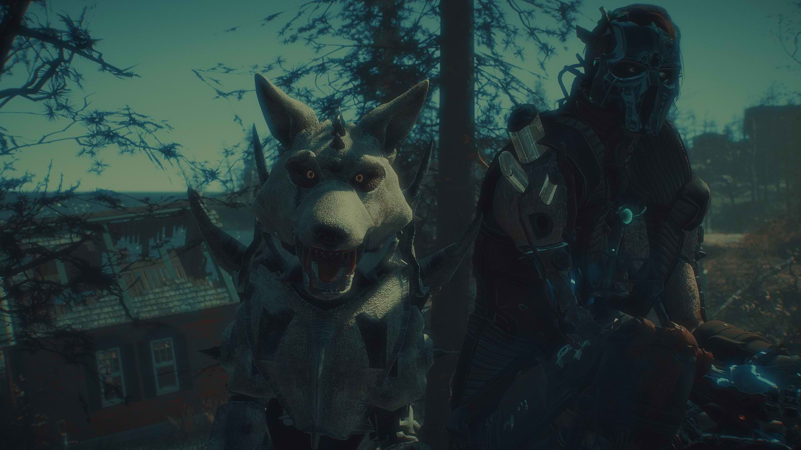 A synth and his dog - Far Harbor.jpg