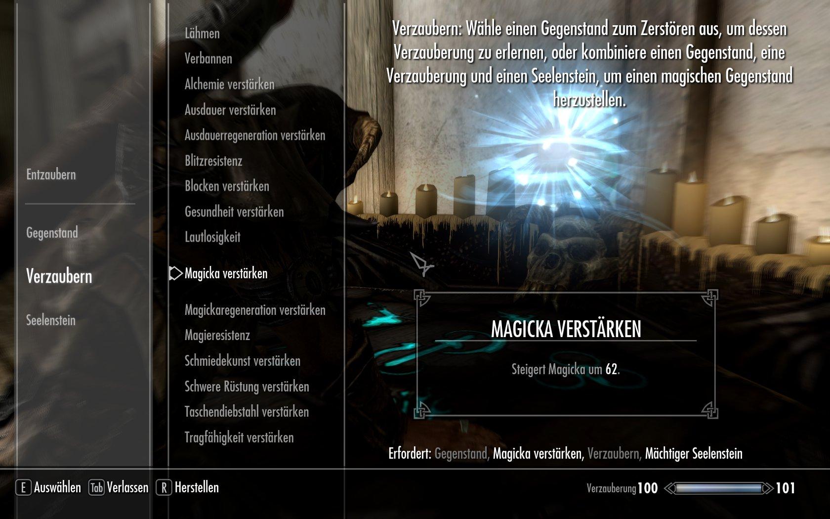 stärkere Verzauberungen | ElderScrollsPortal.de