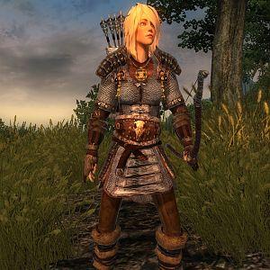 Oblivion-martha Aus Ledur-körper