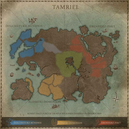 Online:Interaktive Karte von Tamriel – Tamriel-Almanach ...